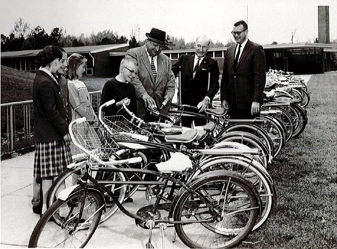 Beverly Hills bike rack