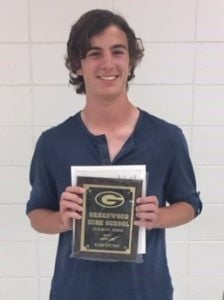 Greenwood High School boys tennis awards presented
