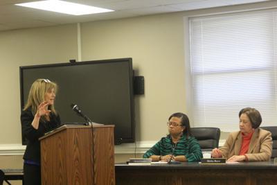 Shana Plott, D50 superintendent search March update