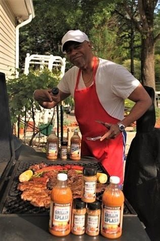 Robert Hoefer Jr. is celebrating two years of healthy living and still enjoying barbecue