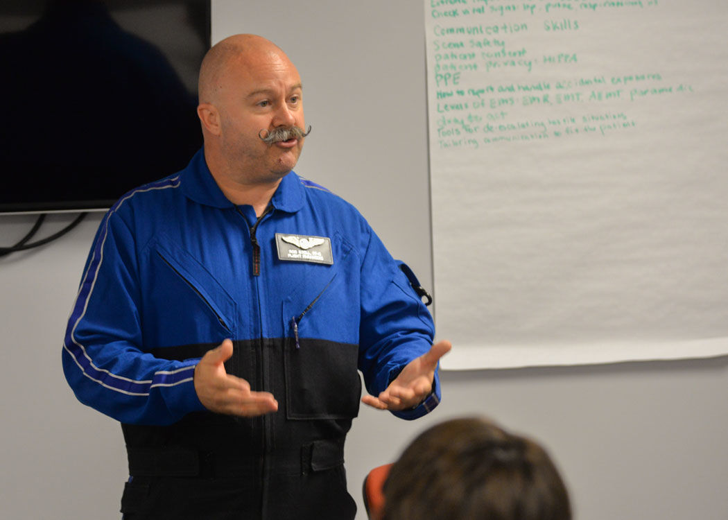 The Sky's the Limit for Certified EMTs and Paramedics trained at PTC