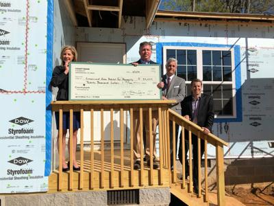 Countybank Foundation presents $20,000 to Greenwood Area Habitat for Humanity
