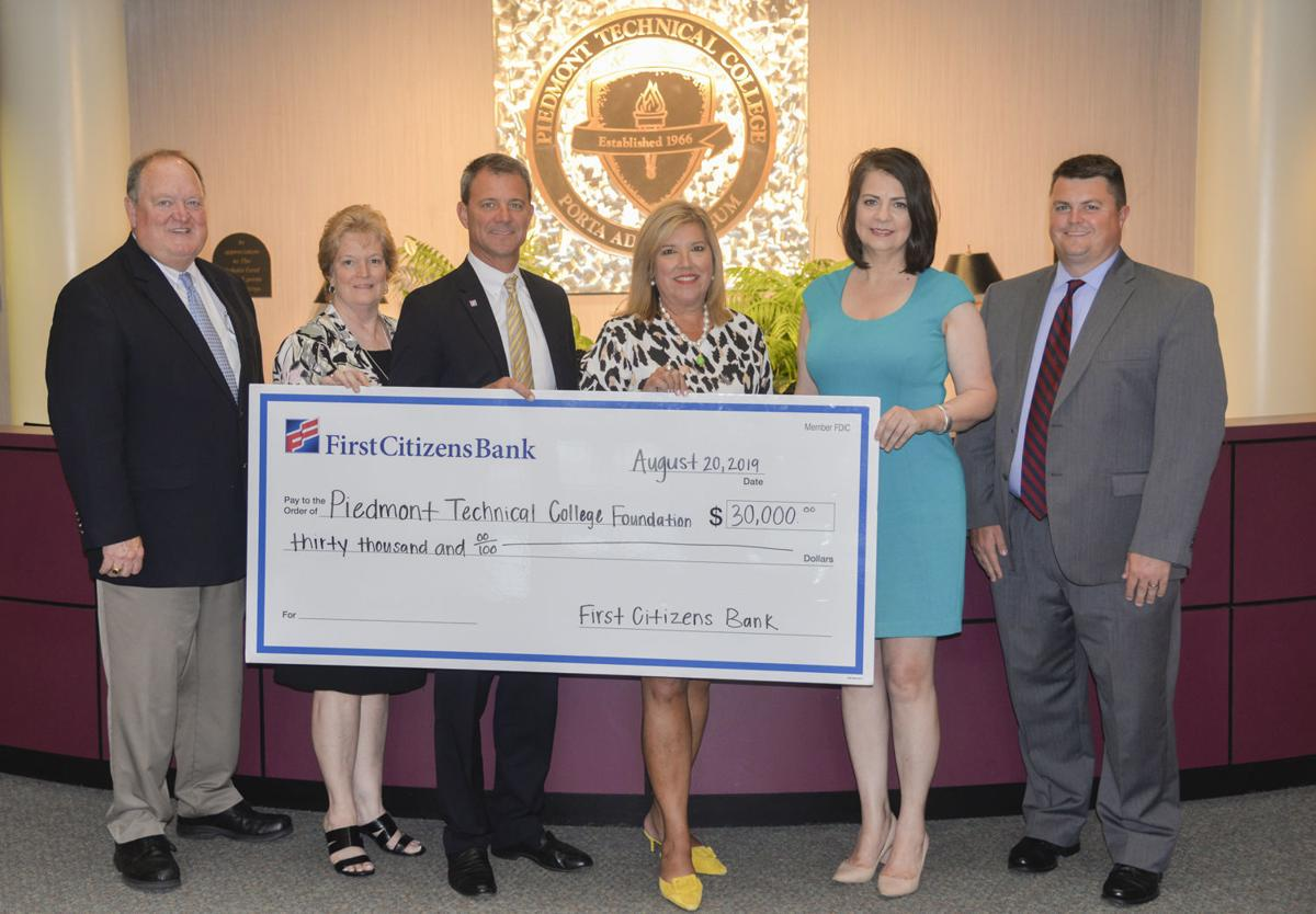 First Citizens Bank endows PTC Foundation | Lakelands
