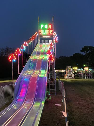 Hodges Outdoor Spring Festival, amusement rides open tonight.