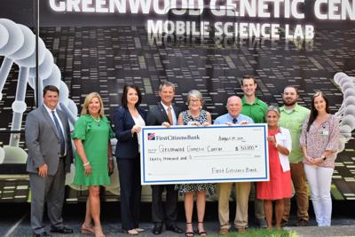 First Citizens Bank funds Outreach Education at Greenwood Genetic Center