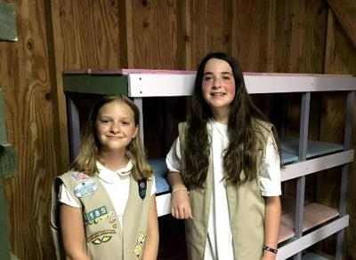 Girl Scout Cadettes earn awards