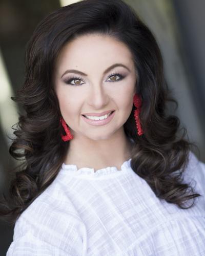 Hannah Wilson, Miss Lander University, competes in Miss South Carolina finals Saturday