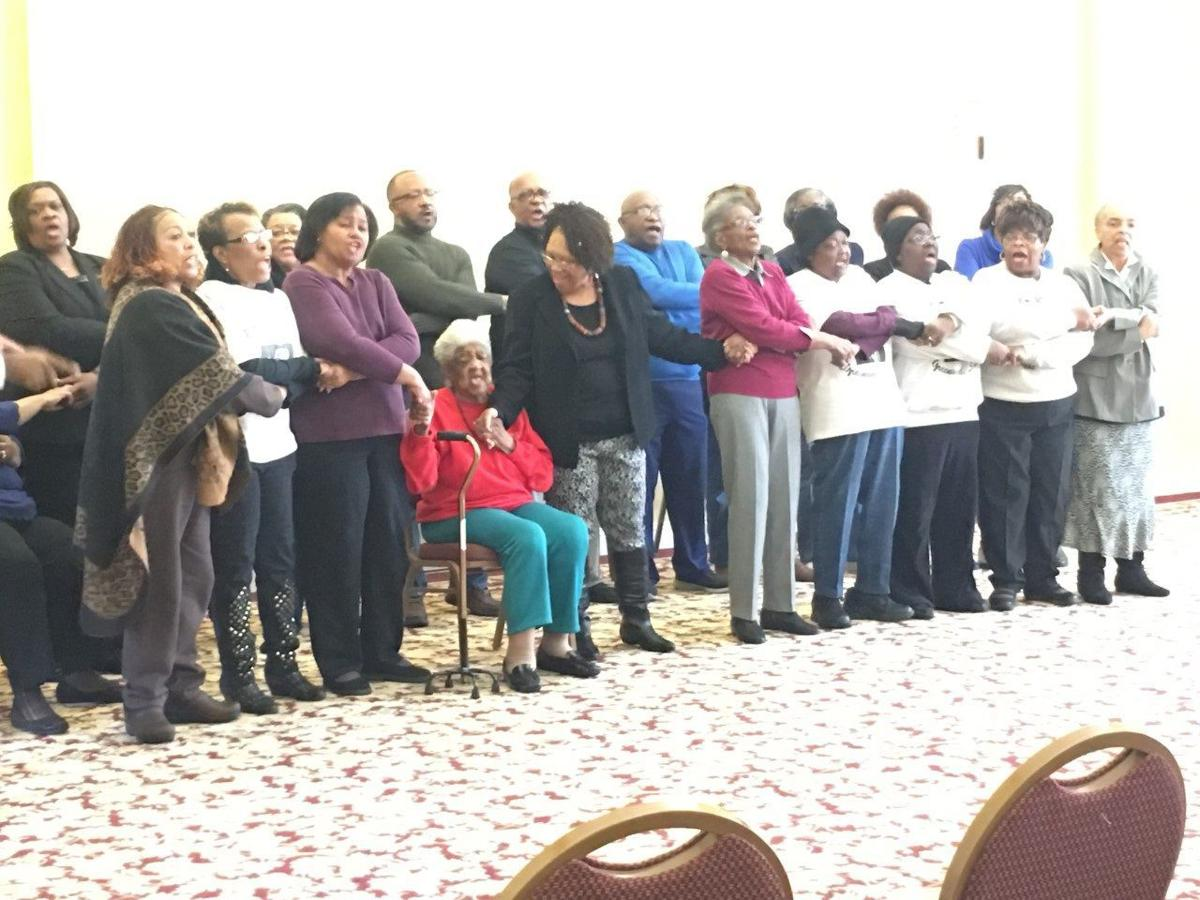 Greenwood Area Martin Luther King Jr. Mass Choir at Connecting with the Dream
