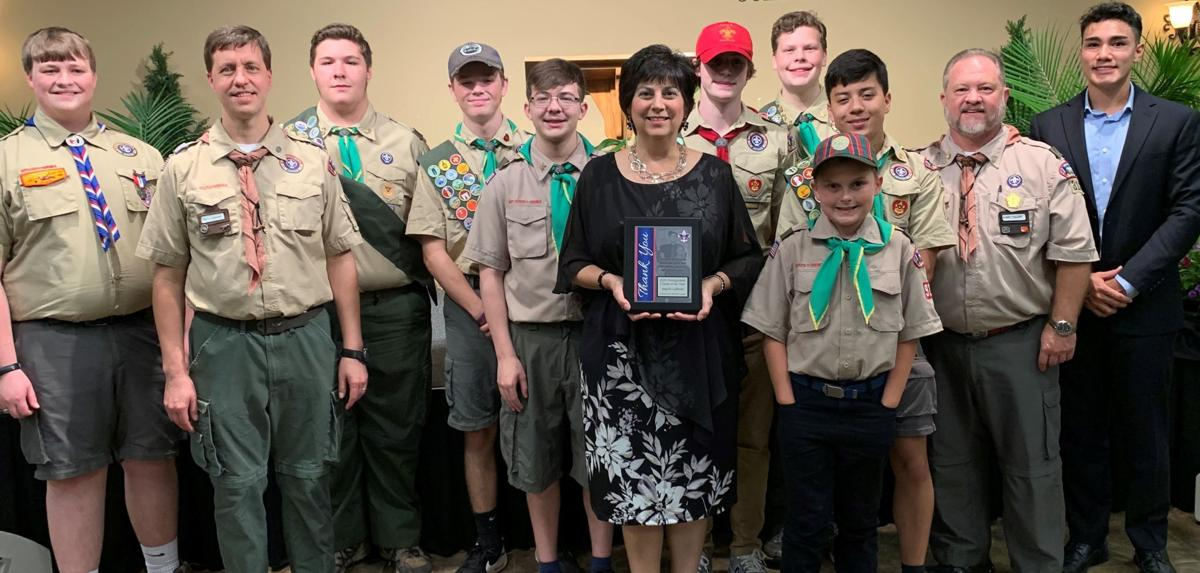 LaBorde and Boy Scouts