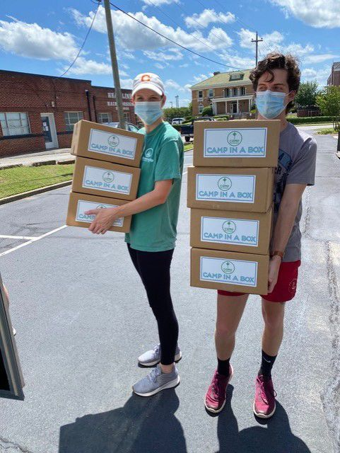 Fellowship Camp and Conference Center is delivering Camp in a Box to camp families