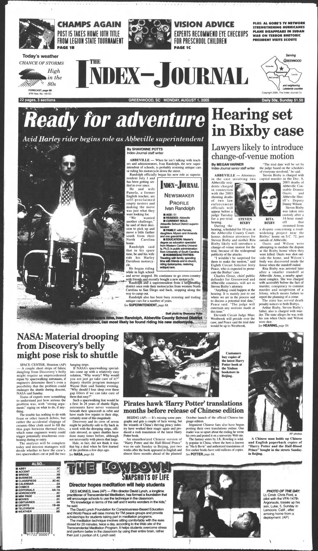 From the Archives: Bixby case | News | indexjournal com