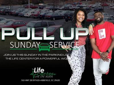 Pull-up church service