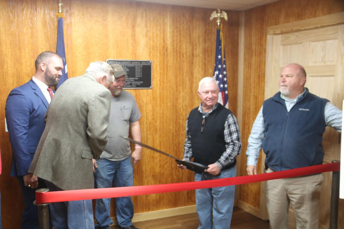 Abbeville County animal shelter dedication (copy)