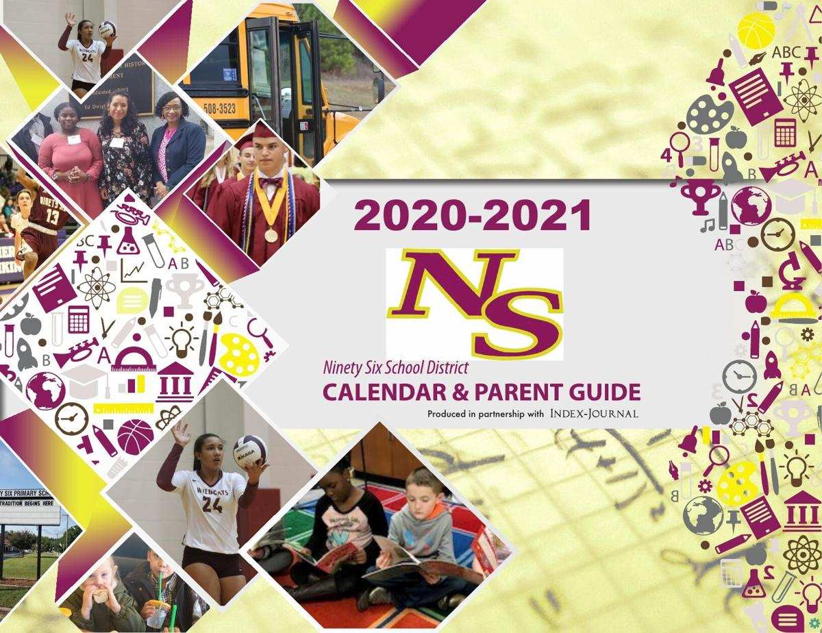 2020-2021 Ninety Six District 52 Calendar