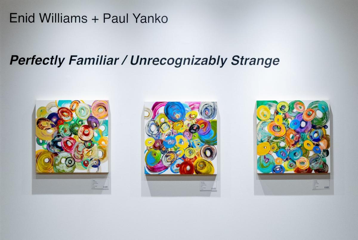 Plan a socially-distanced visit: Contemporary art at Lander by Enid Williams, Paul Yanko