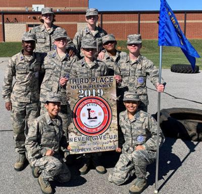 EHS AFJROTC first Raiders team takes third