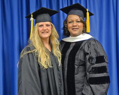 Wall honored at PTC fall commencement