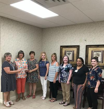 GMFCU members make donation to Healthy Learners