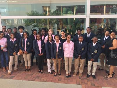 Laurens High School students attend symphony