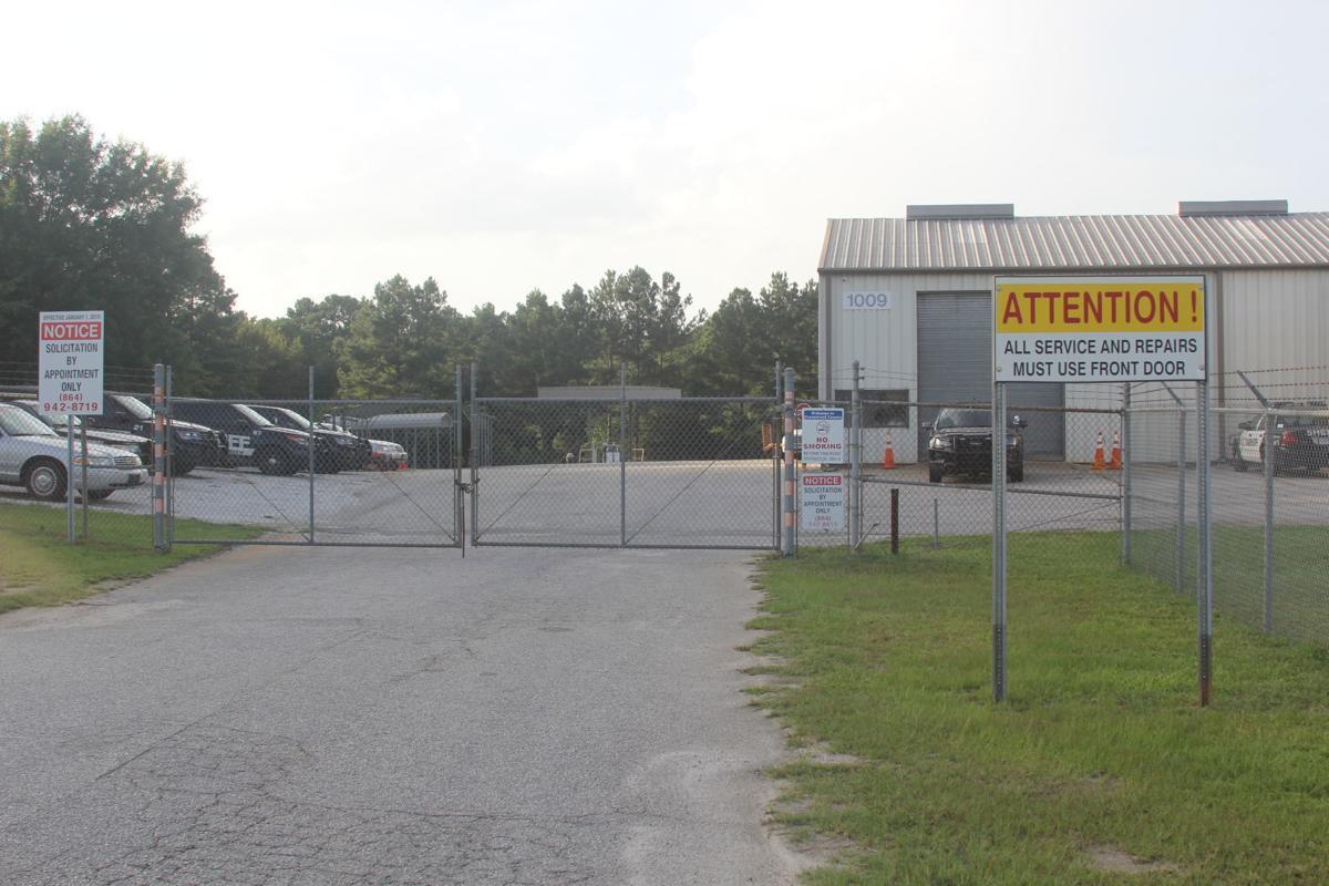 Greenwood County Maintenance Shop