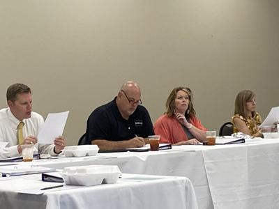 School board meeting.