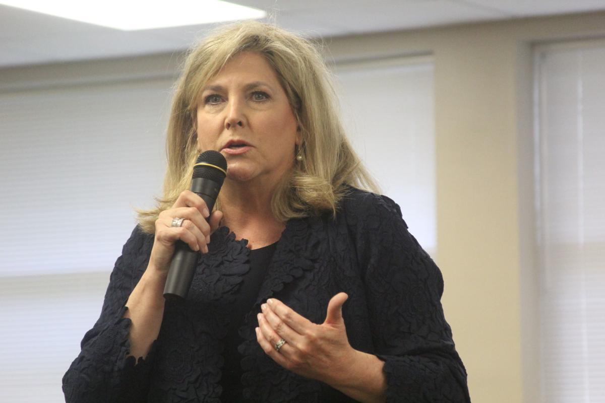 Julie Fowler, D50 superintendent forum