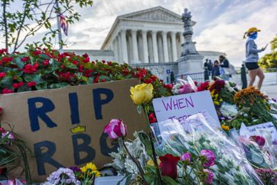 APTOPIX Supreme Court Ginsburg