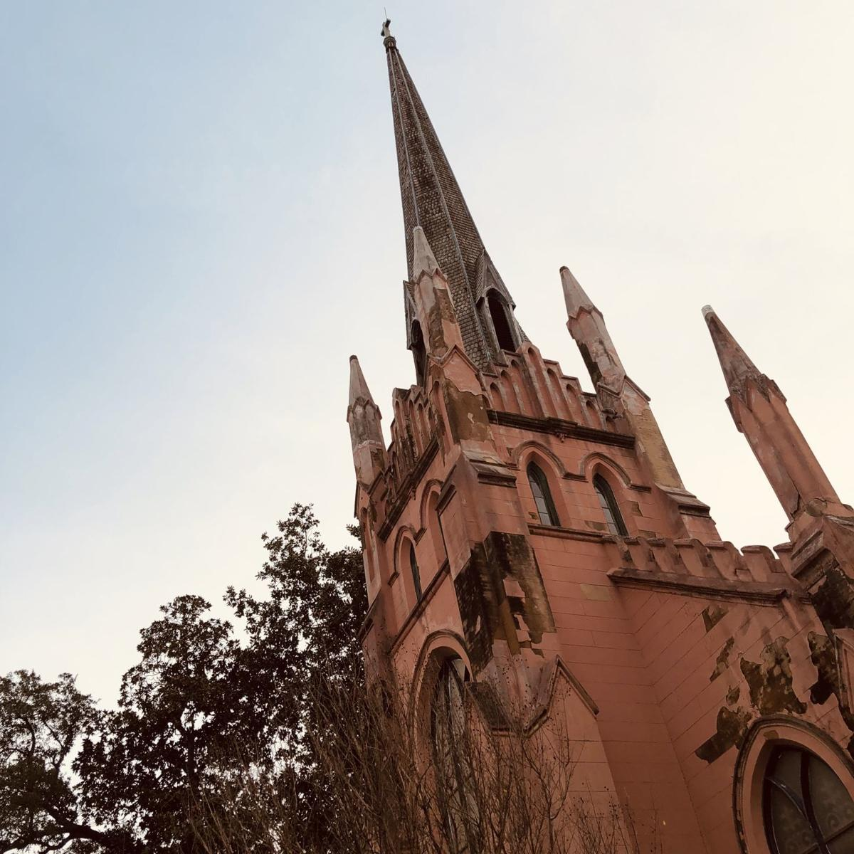 The steeple needs to be stabilized
