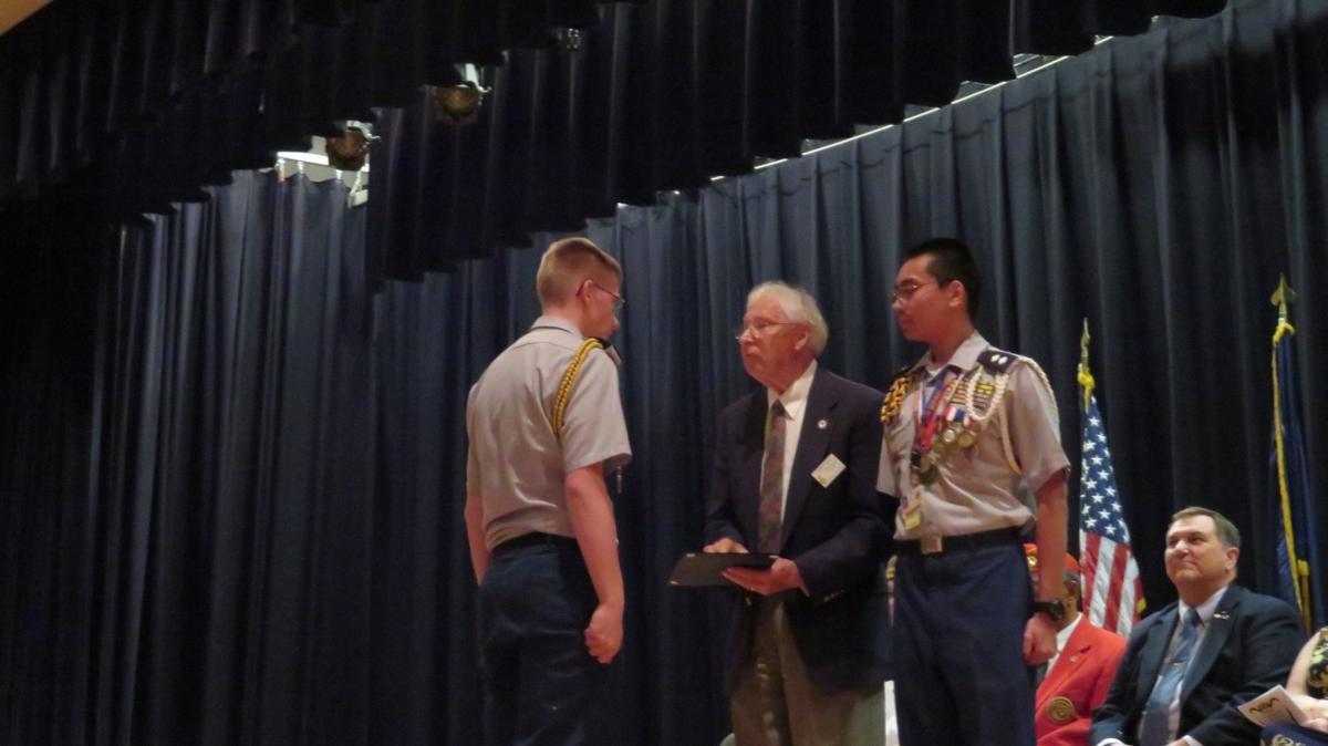 SAR presents JROTC awards at area high schools