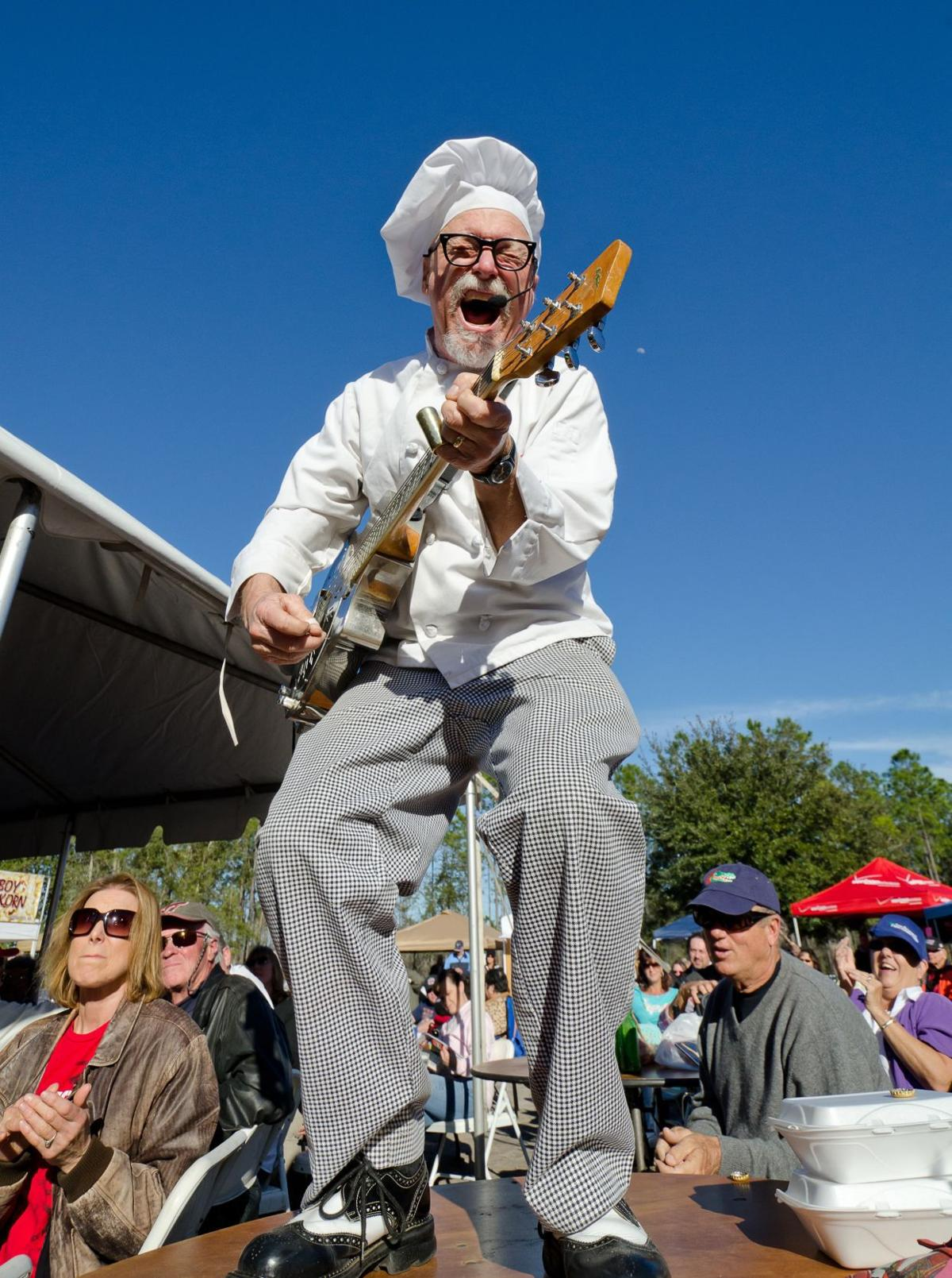 Sauce Boss\' to cook gumbo while playing blues for Greenwood Soup ...