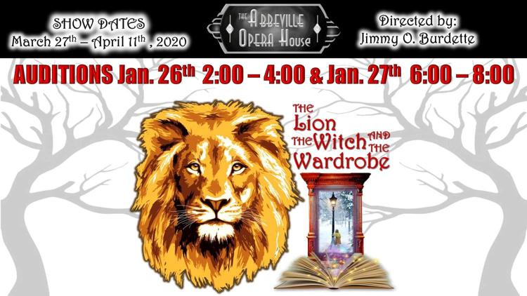 aoh-lionwitchwardrobe-auditions