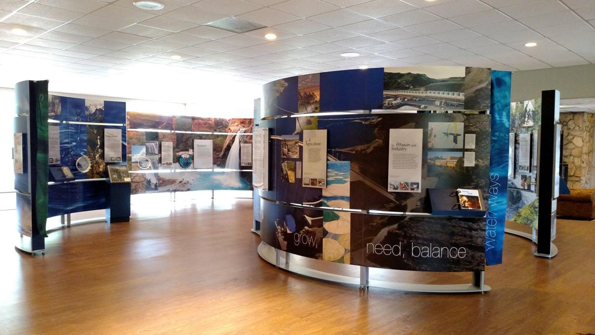 The Smithsonian's Water/Ways exhibit: on view through Aug. 8 at Hickory Knob State Park