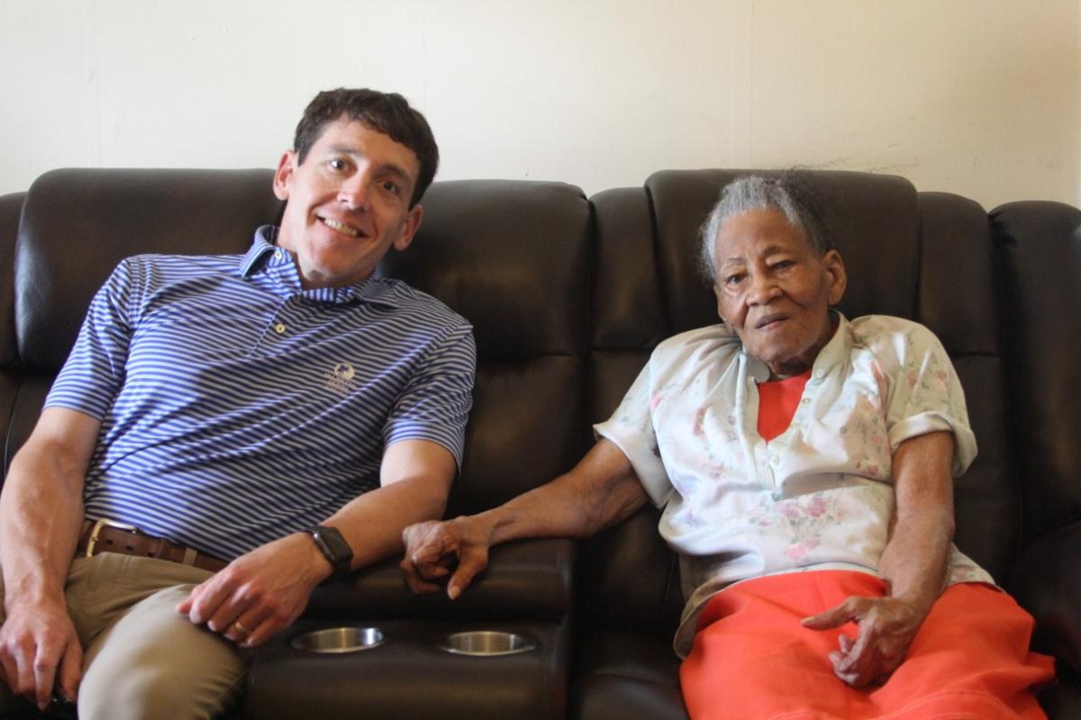 Clara Dendy celebrates 95th birthday