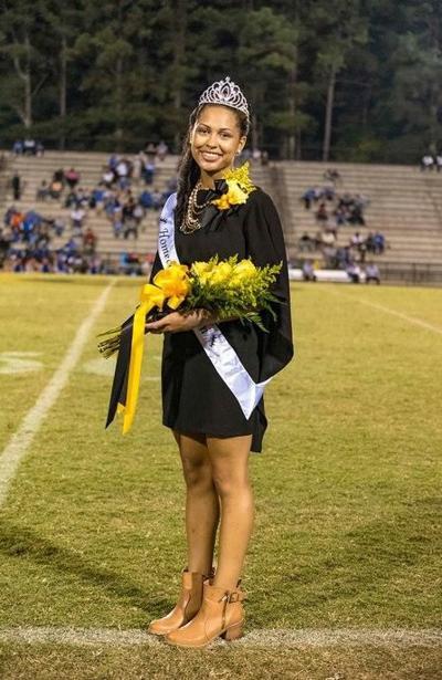 Sanders crowned Greenwood High Homecoming Queen