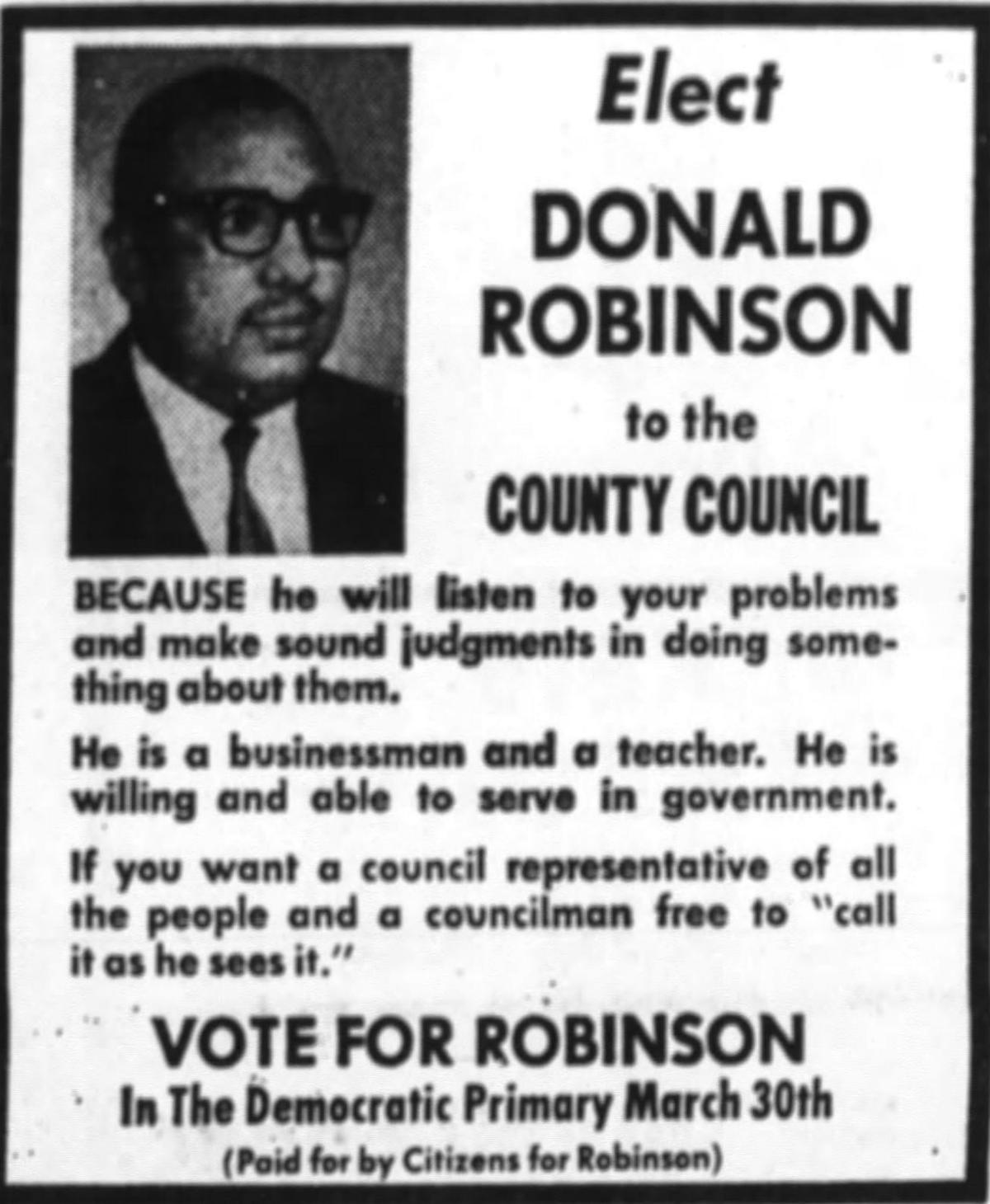 Donald Robinson ad 2