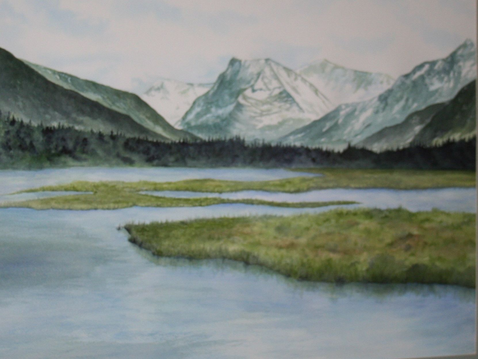 William H. Evert watercolors to be displayed at Howard's on Main