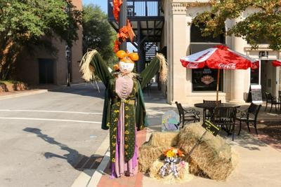 Both Uptown Greenwood and Ninety Six need your entries for scarecrow contests