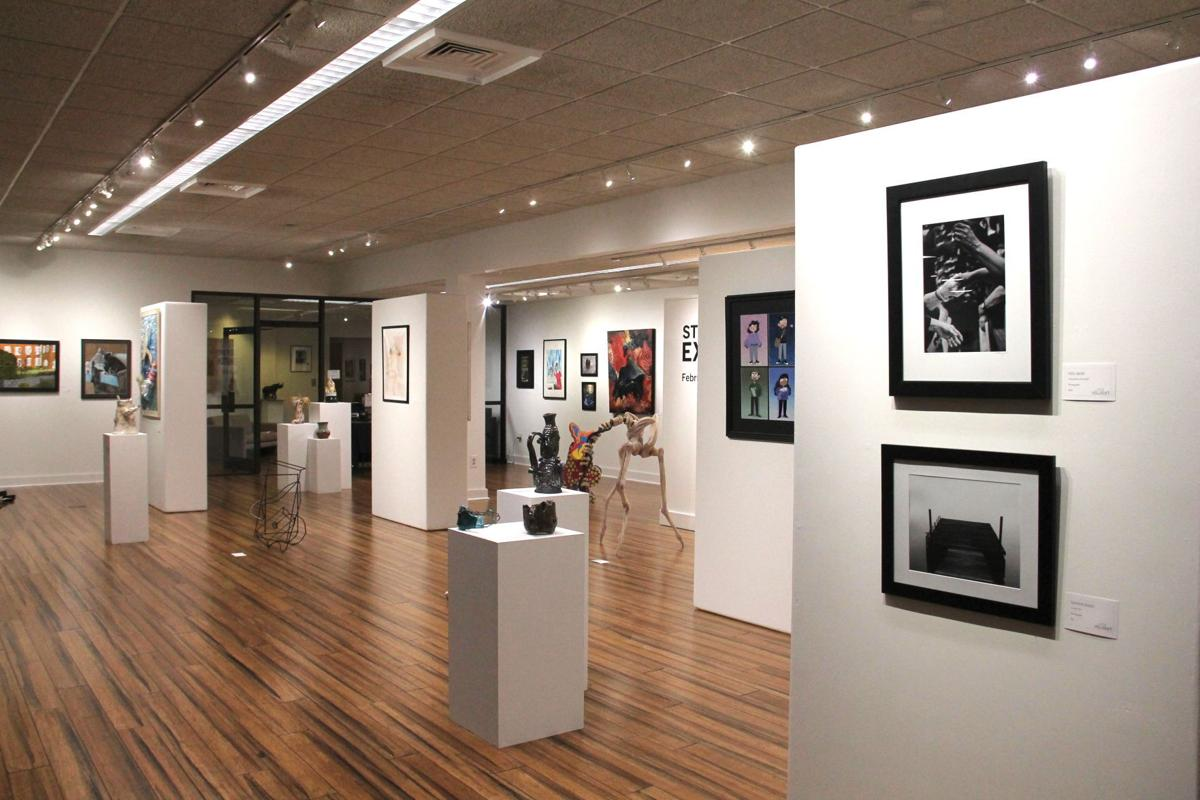 The 2021 Juried Student Art Exhibition is on view at Lander's Fine Art Gallery