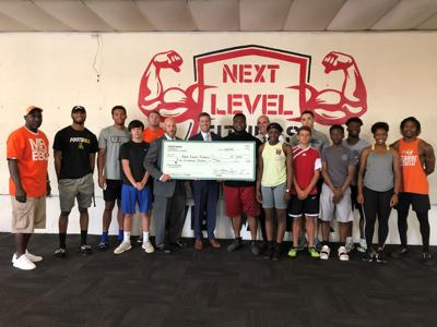 Countybank Foundation donates to Next Level Fitness