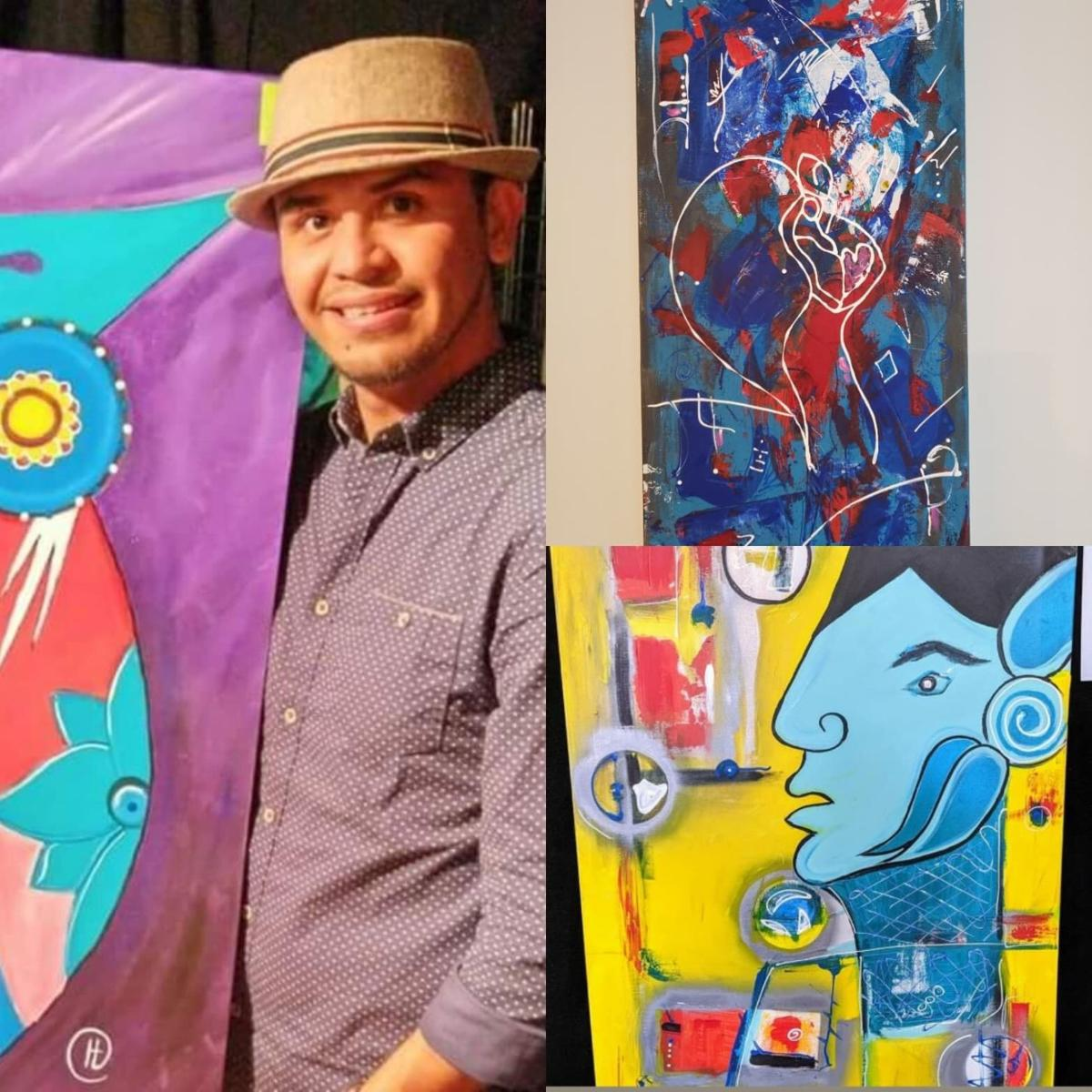 Ernesto Hernandez is the Artist of the Month for November at Howard's on Main