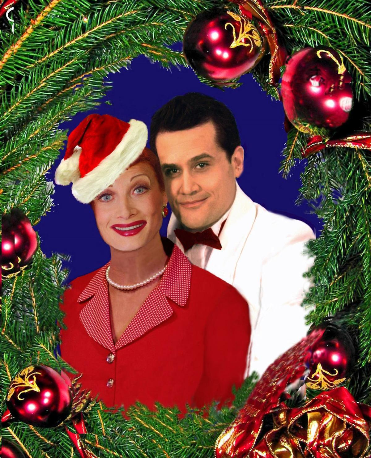 Celebrate Christmas with Lucy and Ricky at Abbeville Opera House Dec. 6.