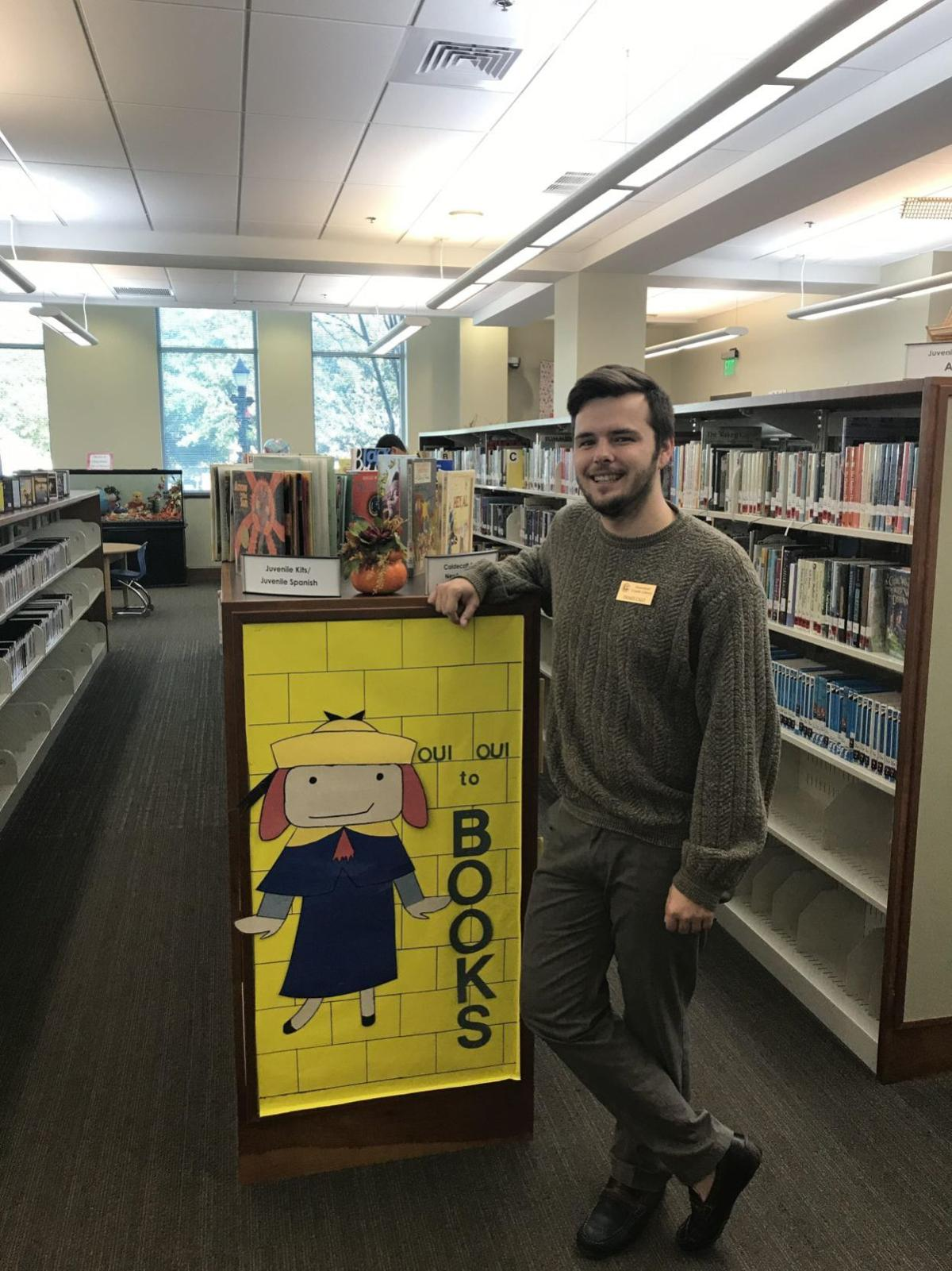 Drake Calo, Greenwood County Library System children's room assistant