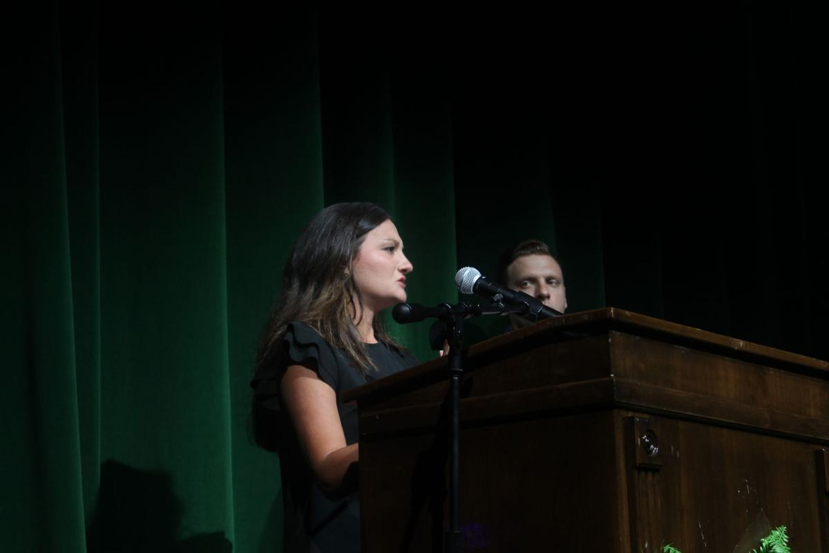 Teacher of the Year ceremony