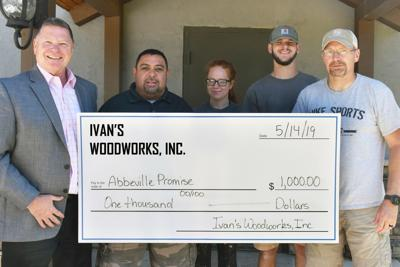 Ivan's Woodworks contribute to The Abbeville Promise