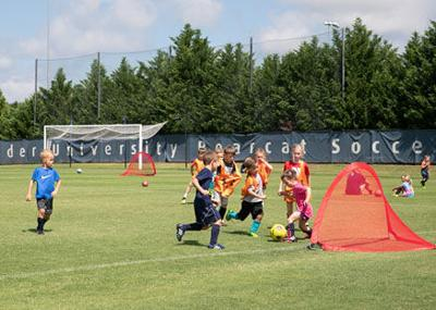 Lander coach hosts annual soccer camp