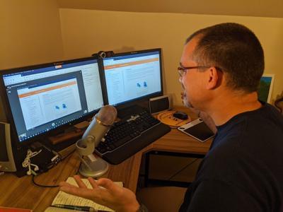 Online instruction enters new phase at Lander