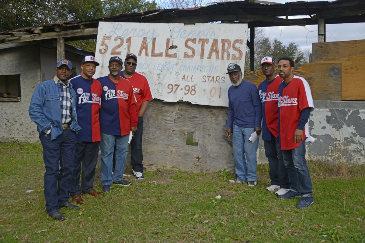Seven members of the 521 All-Stars today