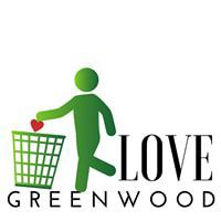 Love Greenwood logo