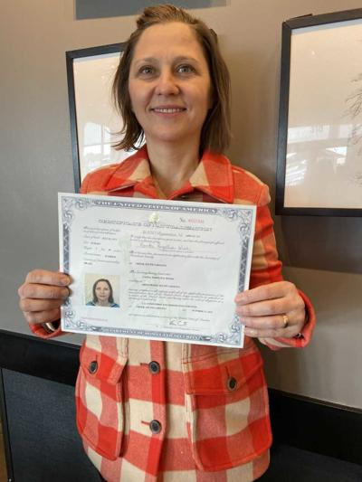 Greenwood County Library ESL student becomes US Citizen