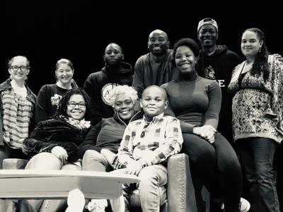 Some members of the cast and crew of GCT's 'A Raisin in the Sun' (copy)